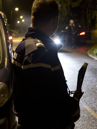 Residents face an uneasy night with fugitives loose in the area. Picture AP Photo/Peter Dejong.