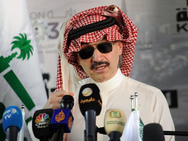 Authorities reportedly demanded US$6 billion from Prince Alwaleed bin Talal who is one of the world's richest men. Picture: AFP PHOTO / Amer HILABI