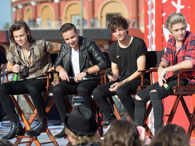 Where's Zayn? 1D were forced to appear as a four-piece on a US TV show last week after Zayn Malik pulled out because of illness. Source: Getty Images