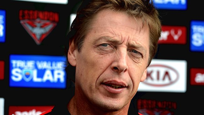 Mark Thompson says he feels embarrassed by the Essendon drugs scandal. Picture: Wayne Ludbey
