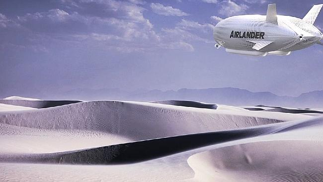 These airships could land on ice, sea or desert.