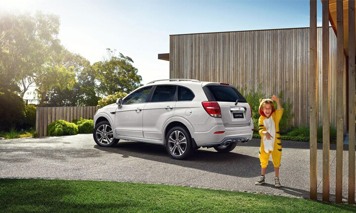 "<b>HOLDEN CAPTIVA from $30,490</b>  <p>The seven-seat Captiva design has remained virtually the same for the past 11 years. I'm guessing they thought they were onto a good thing and didn't need to change it. For the price, the Captiva is excellent value for money. It's an easy car to drive, has an excellent safety rating and despite being smaller than many other SUV seven-seaters, it's actually really roomy. It's a bit heavy on fuel.</p>  <p>Chris, mum of four has been driving a Captiva for over a year. ""We use this as our main car, and it fits my four school kids in comfortably with plenty of room for luggage. You can fold one of the back row seats down, which makes plenty of room.""</p>"