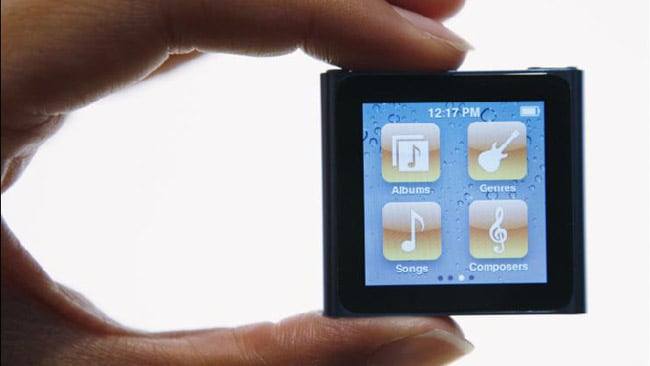 The iPod nano will now be available for $149. Picture: Apple