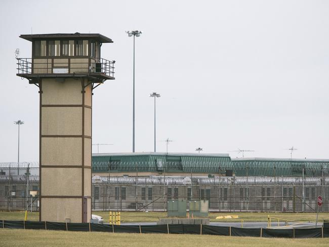 Vaughn Correctional Center near Smyrna, Delaware remains on lockdown following a hostage situation. Picture: AP
