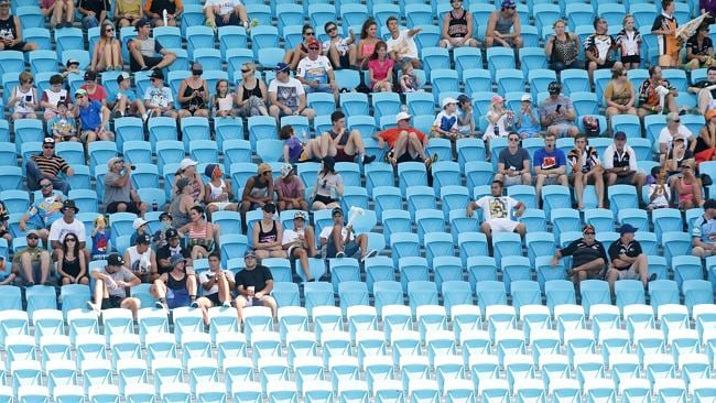 The Titans have struggled to pull a big home crowd all year.