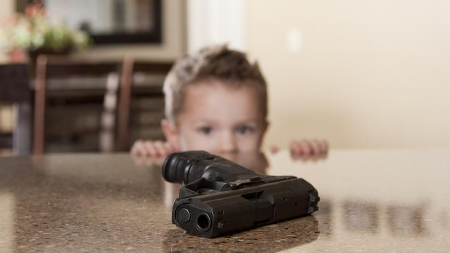 Handguns and other firearms kill around 19 children each day in the US.