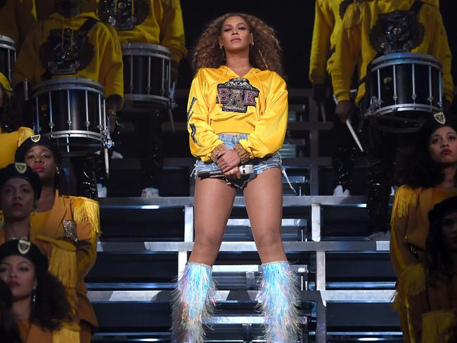 The performance was dubbed 'Beychella'. Picture: Getty Images