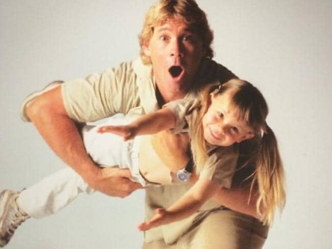 """Instagram photo from Bindi Irwin of """"The world's best Dad. My hero. You will live in my heart forever."""""""