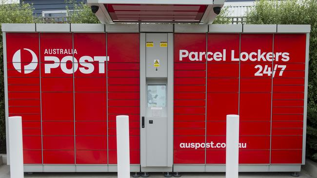 how to use auspost parcel lockers