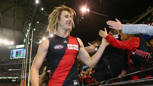 Heppell has played every game for the Bombers this season.