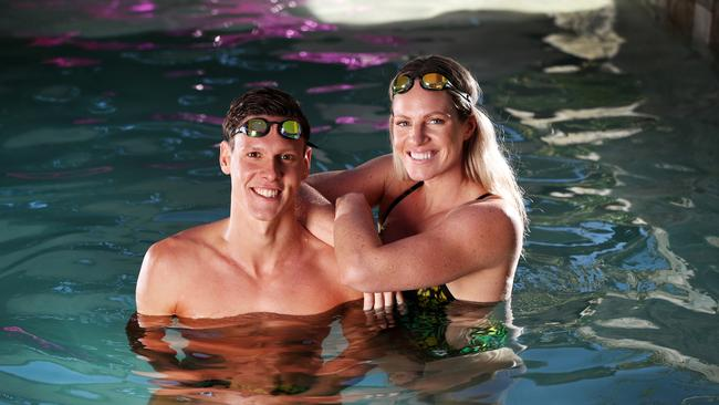 Swim lessons qld emily seebohm says school swim lessons saved her life the courier mail for Commonwealth pool swimming lessons