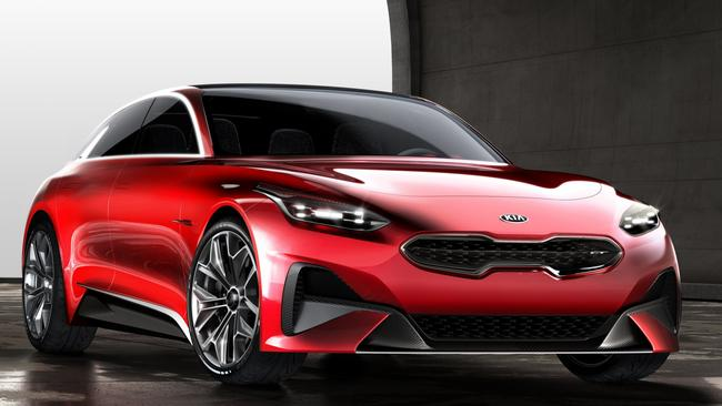 Kia Proceed GT. Picture: Supplied.
