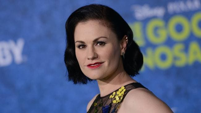 Anna Paquin at the Disney Premiere of The Good Dinosaur in Hollywood ... Anna Paquin