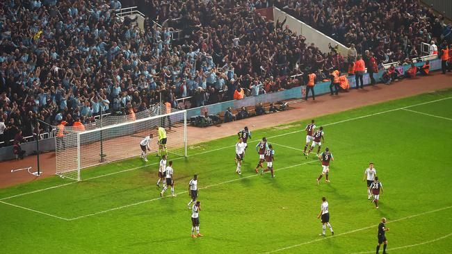 Wets Ham give the Boleyn Ground — and LVG — the fondest of farewells.