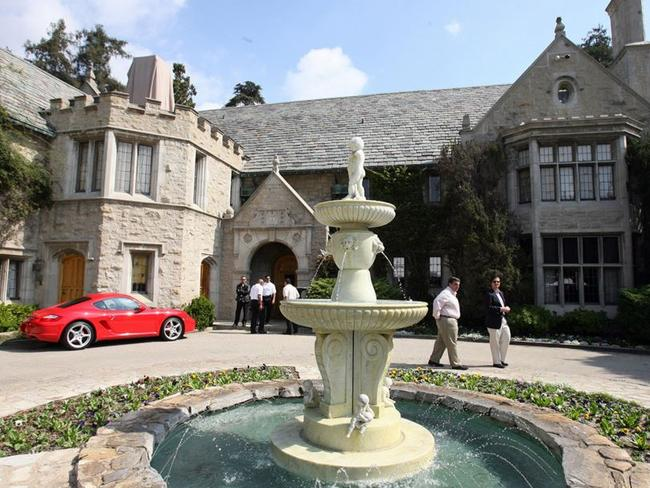 Hugh Hefner put the Playboy Mansion on the market years ago for more than $US200 million. It sold for half that.