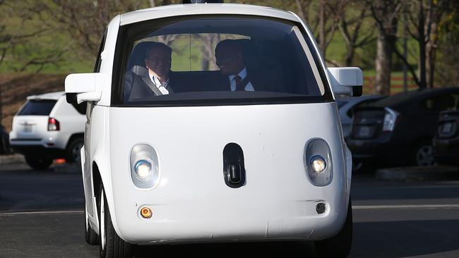 Is Apple working on its own driverless car to counter Google?