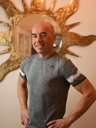 Boxing coach Paul Panos, the first outpatient at the new Royal Adelaide Hospital. Picture: Tom Huntley