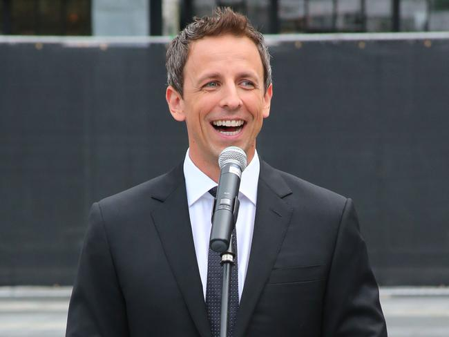 First-time Emmys host Seth Meyers has got to be feeling the pressure right about now.