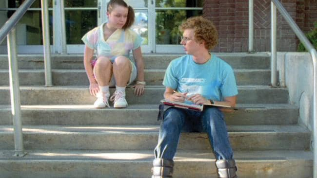 Tina Majorino and Jon Heder had the world's most awkward love story in the film.
