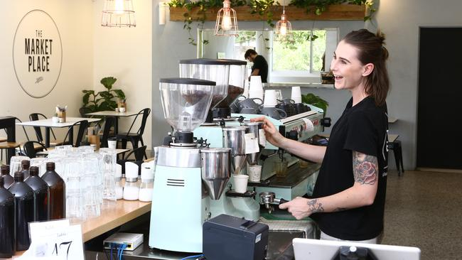 Baristas are among the nation's fastest growing occupations. Picture Glenn Hampson