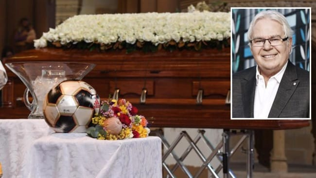 Les Murray was honoured with a state funeral.
