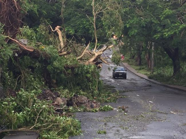 The city of Suva in Fiji is recovering after the Category 5 cyclone. Picture: Geoffrey Smith