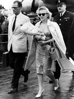 Actress and style icon Marilyn Monroe, seen here with husband Arthur Miller, died in 1962 after taking a cocktail of drugs which the Los Angeles Coroner later stated was a probable suicide. Picture: AP Photo