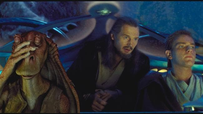 Jar Jar stole the show from Liam Neeson and Ewan McGregor in the 1999 classic.