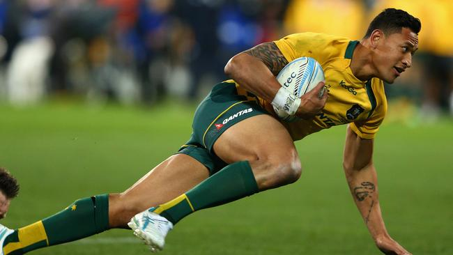 Israel Folau remains the Wallabies' key strike weapon.