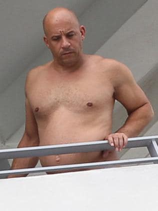 Vin Diesel fires back with ripped selfie