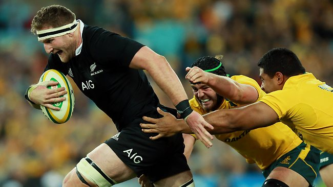 Kieran Read will again captain the All Blacks in Richie McCaw's absence.