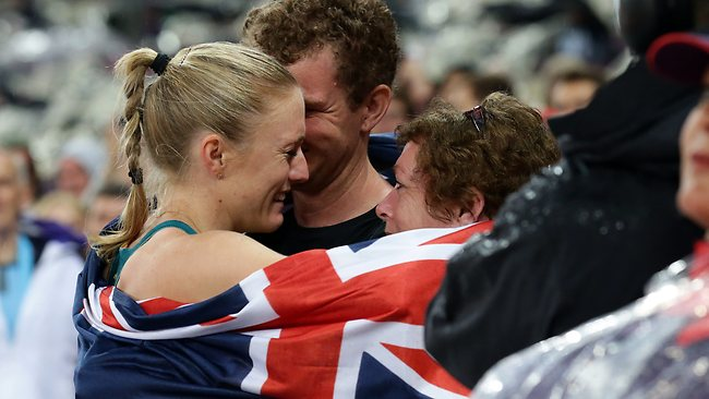 Sally Pearson and family
