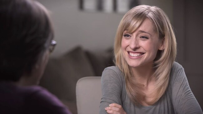Allison Mack has allegedly been brainwashed by cult leader Keith Raniere. Photo: Keith Raniere Conversations/Youtube
