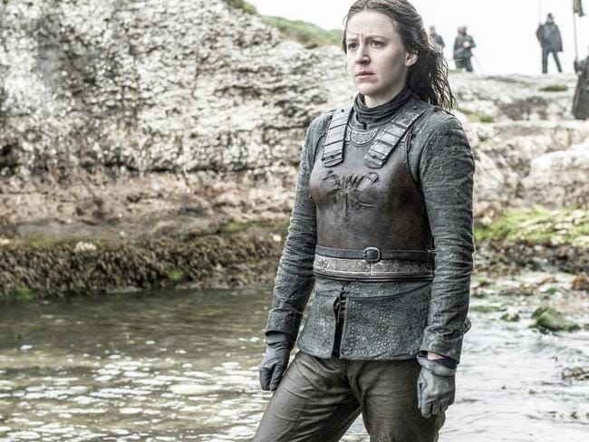 """Theon's sister: """"Geez, something Reeks around here."""" Picture: HBO"""