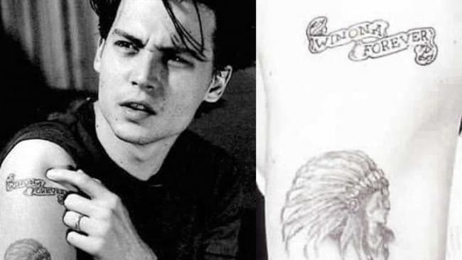 Winona Ryder And Johnny Depp Tattoo What you should...