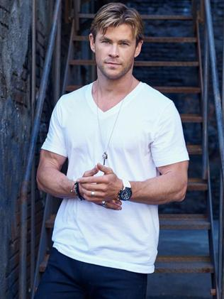 Heart of gold ... Thor star Chris Hemsworth has paid off his parents debts.