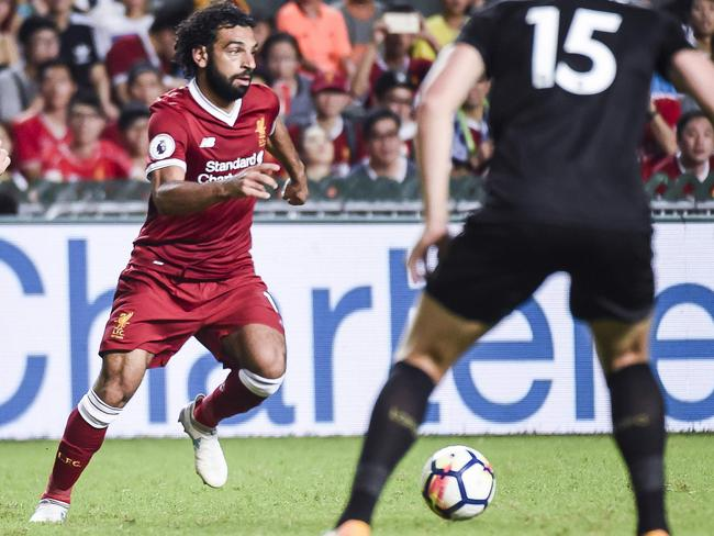 Mohamed Salah adds to Liverpool's embarrassment of attacking riches.