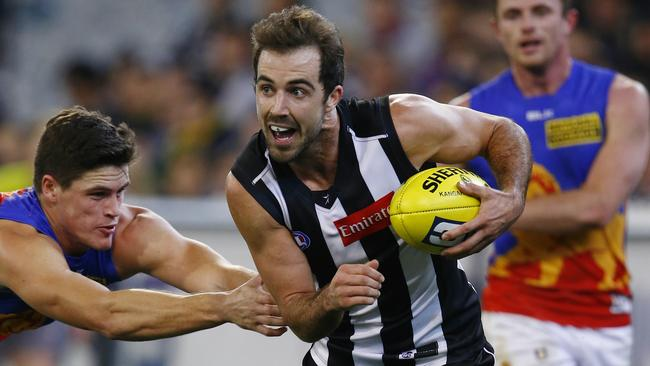 Steele Sidebottom impressed without his star teammates. Picture: Michael Klein