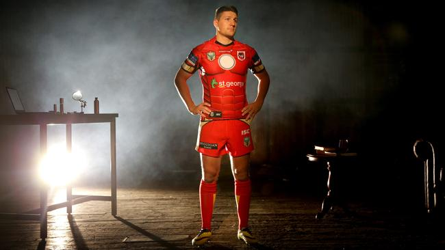 Dragon's Gareth Widdop in his Ironman kit. Picture Gregg Porteous