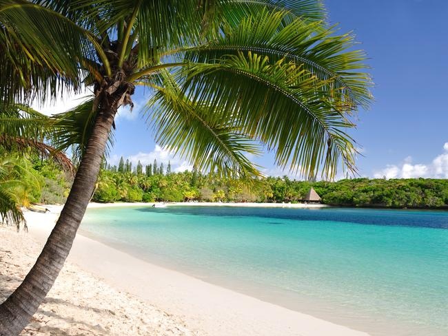 New Caledonia has stunning white beaches and turquoise lagoons.