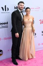 Sam Hunt and Hannah Lee Fowler attend the 2017 Billboard Music Awards at T-Mobile Arena on May 21, 2017 in Las Vegas, Nevada. Picture: AFP