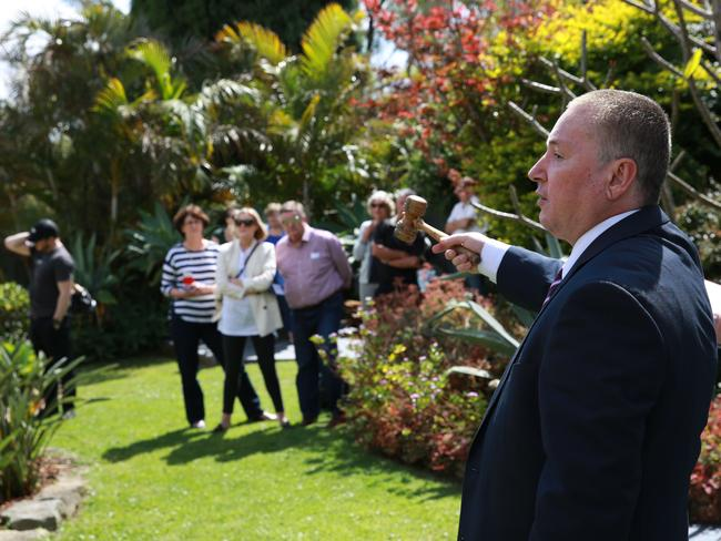 Property ownership may move away from domestic investors, says the Treasury documents. Picture: Damian Shaw/AAP