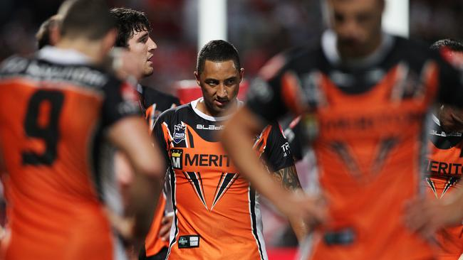 A dejected Benji Marshall.