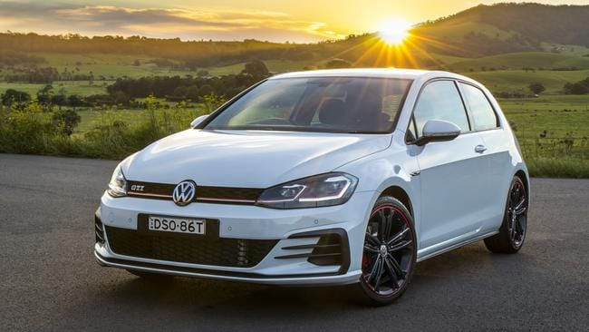 The VW Golf GTI Original Edition is available in any colour you want, as long as it's white or red. Picture: Supplied.