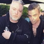 "The 2016 ARIA Awards via social media ... Kyle Sandilands with Robbie Williams, ""Kings!"" Picture: Instagram"