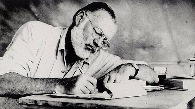 ernest hemingway 3 essay Thesis and outline s ernest hemingway introduction ernest hemingway is a well-known american writer in the twentieth century his works have unique characteristics both in theme and writing style.
