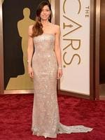 Actress Jessica Biel on the red carpet at the Oscars 2014. Picture: Getty