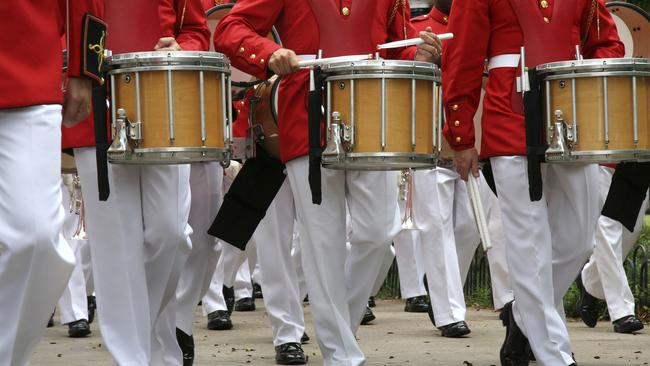 Twelve drummers drumming will set you back $A3357.11.