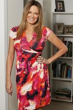 TV personality Charlotte Dawson at her Darlinghurst apartment in Sydney. Picture: Rohan Kelly