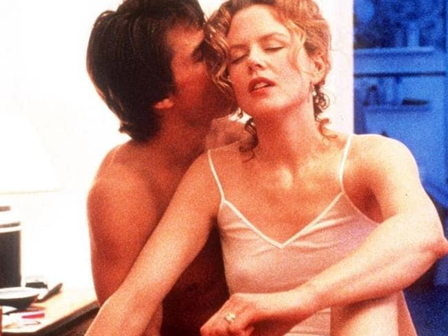 Nicole Kidman with then-husband Tom Cruise in Eyes Wide Shut. Picture: Supplied